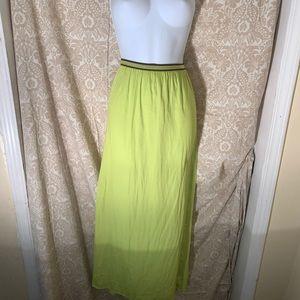 Women long skirt.